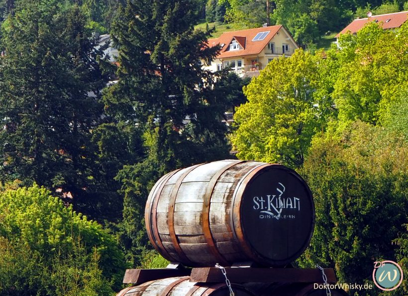Fass St. Kilian Brennerei in Rüdenau