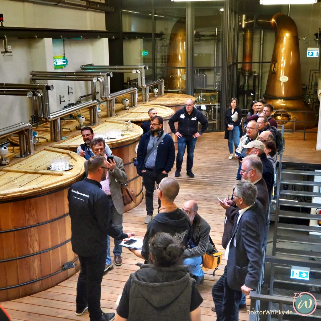 Presserundgang in der St. Kilian Distillerie I - St. Kilian Distillers