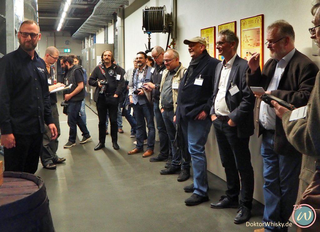 Presserundgang in der St. Kilian Distillerie mit Master Distiller Mario Rudolf - St. Kilian Distillers