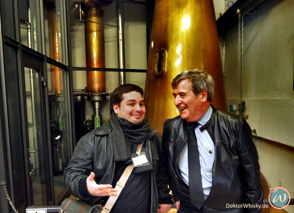 David Hynes und Kai von doktorwhisky.de - St. Kilian Distillers